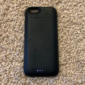 iPhone 6 mophie charging case- Black